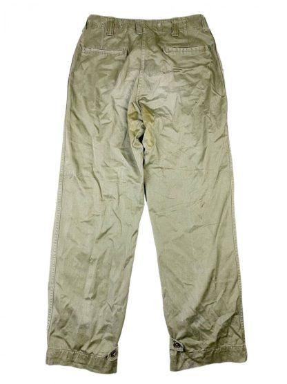 Original WWII US M-1943 Field trousers