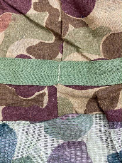 Original WWII USMC M1 helmet camouflage mosquito cover