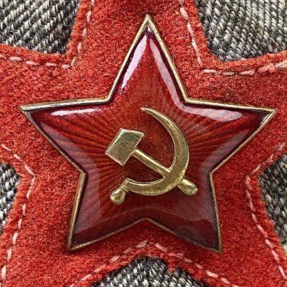Original WWII Russian M38 tropical 'Panamanka' hat