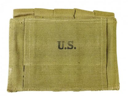 Original WWII US Thompson magazine pouch