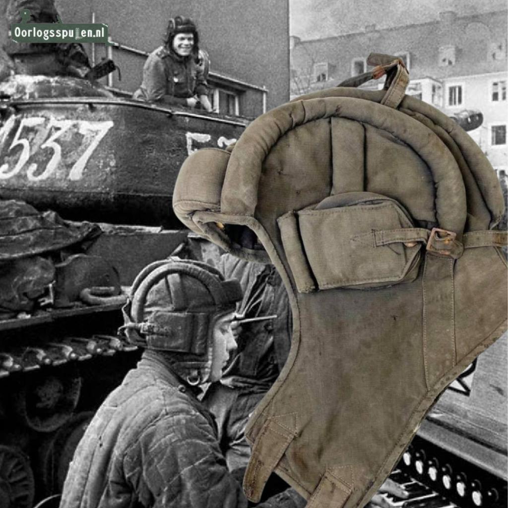 Russian M36 tank helmet