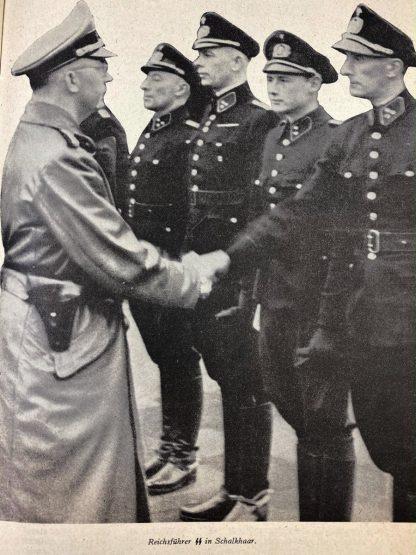 Original WWII Dutch Schalkhaar politie booklet