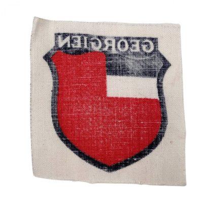 Original WWII German foreign volunteer shield Georgien