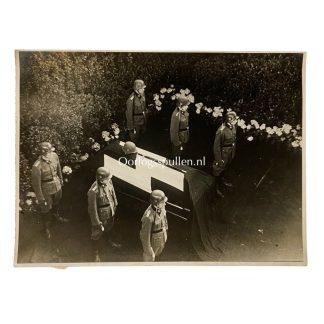 Original WWII German Waffen-SS Reinhard Heydrich funeral photo