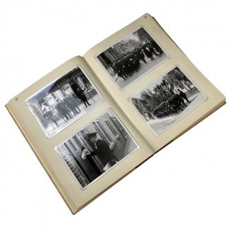 Original WWII Dutch NSB personal photo album of the head of the NSB museum and archive H.L. Schuilenburg