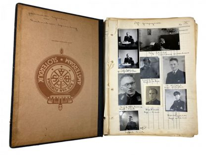 Original WWII Dutch collaboration photo album