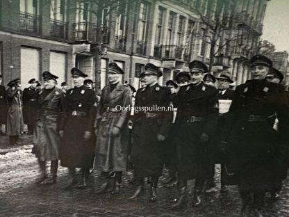 Original WWII Dutch NSB photo grouping 'Strijd in Amsterdam' 1944