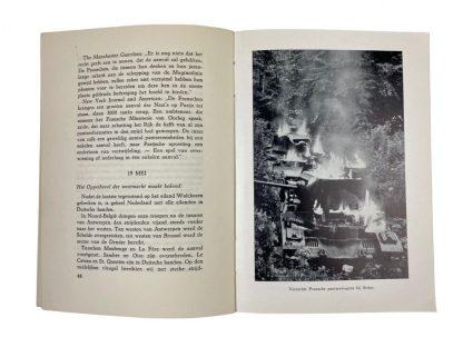 Original WWII Dutch collaboration book – Het einde der Illusies