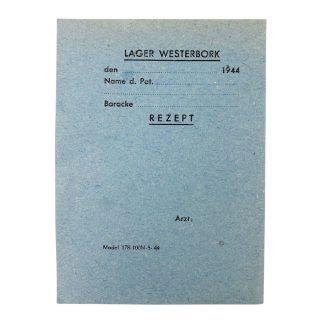 Original WWII Dutch 'Durchgangslager' Westerbork doctors recipe