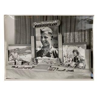 Original WWII Dutch Jeugdstorm photo 'Weersportkampen'