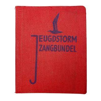 Original WWII Dutch Jeugdstorm song booklet