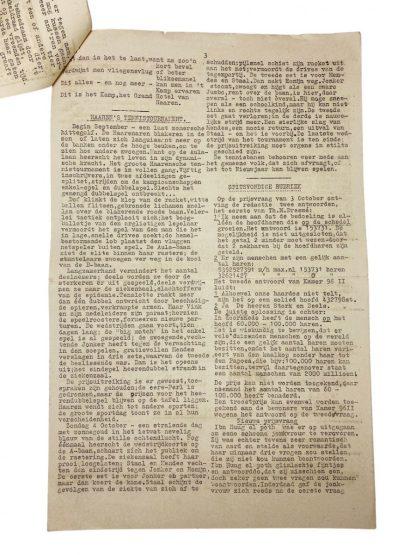 Original WWII Dutch Polizei- und Untersuchungsgefängnis Lager Haaren magazine