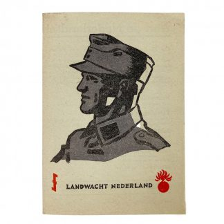 Original WWII Dutch 'Landwacht Nederland' flyer