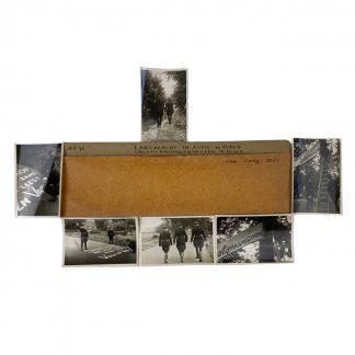 Original WWII Dutch NSB photo grouping 'Landwacht in Roden'