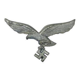 Original WWII German Luftwaffe tropical pith helmet eagle