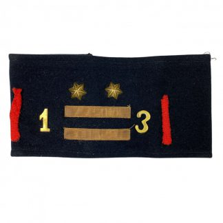 Original WWII Dutch NSB 'W.A. Luitenant' armband