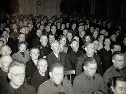 Original WWII Dutch NSB photo grouping 'Kringappèl te Hoorn'