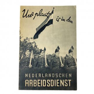Original WWII Nederlandsche Arbeidsdienst booklet 'Uw plaats'