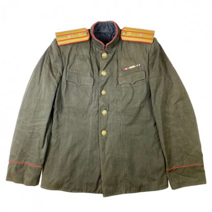 Original WWII Russian M43 junior-lieutenant automobile uniform