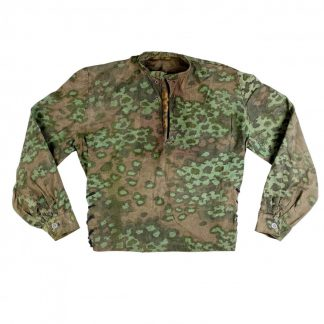 Original WWII German Waffen-SS field made Oak-A camouflage smock