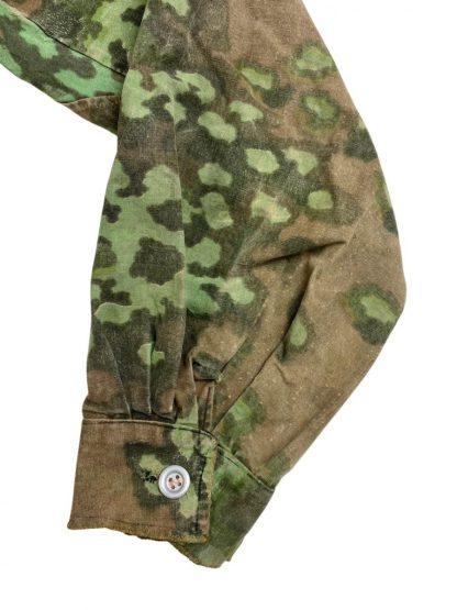 Original WWII German Waffen-SS field made Oak-A camouflage smock