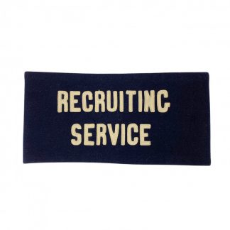 Original WWII US recruiting service armband