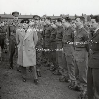 Original WWII British photo 'Montgomery in Canterbury' 1942