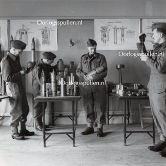 Original WWII British photo 'RASC cadets in the Ammunition room' 1943