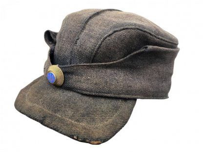 Original WWII Ukrainian SS Trawniki guard field cap