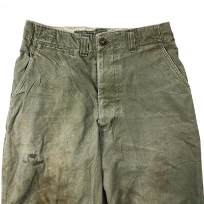 Original WWII US M-1943 Field trousers