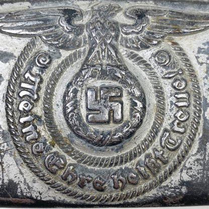 Original WWII German Waffen-SS buckle – Unmarked Overhoff & Cie