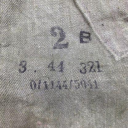 Original WWII German Fallschirmjäger sumpftarn smock