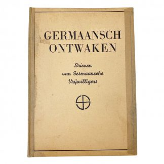 Original WWII Dutch SS book 'Germaansch ontwaken' – 2nd edition