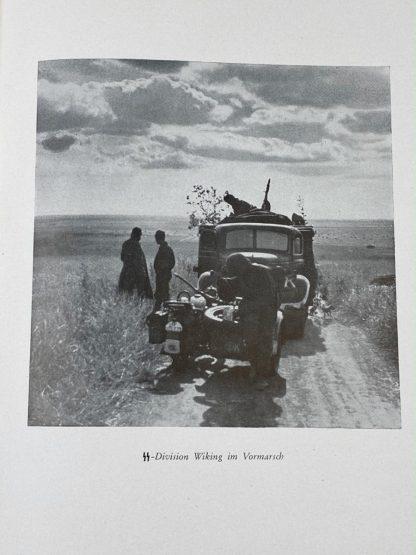 Original WWII German Waffen-SS book 'Germanische Freiwillige im Osten'