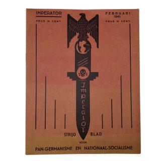 Original WWII Dutch collaboration magazine 'Imperator'