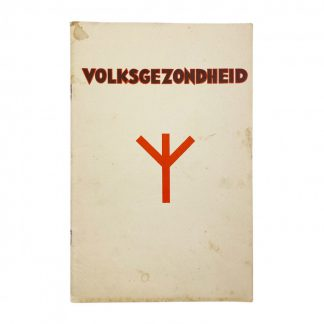 Original WWII Dutch Medisch Front booklet