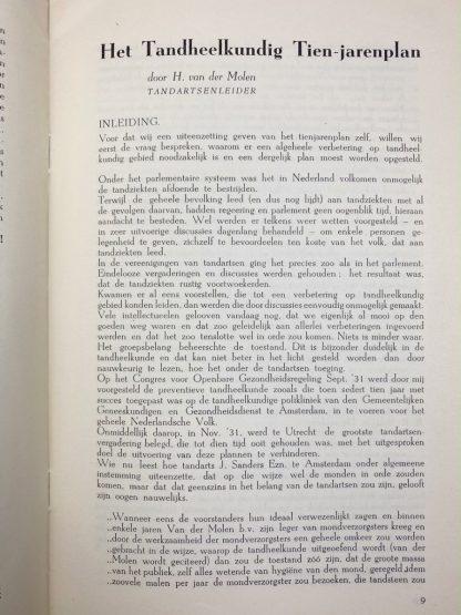 Original WWII Dutch Medisch Front booklet