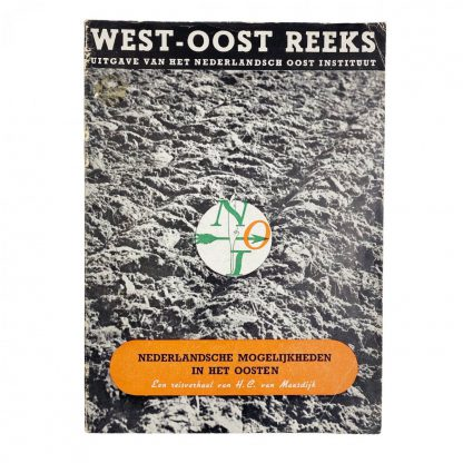 Original WWII Dutch 'Nederlandsch Oost Instituut' booklet