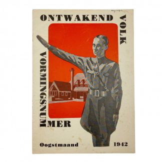 Original WWII Dutch NSB magazine 'Ontwakend Volk' 1942