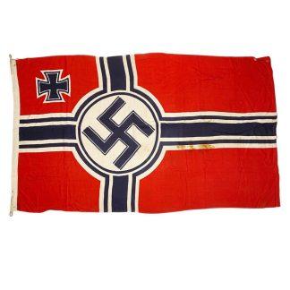 Original WWII German 'Reichskriegsfahne' flag