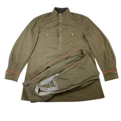 Original WWII Russian M43 artillery uniform