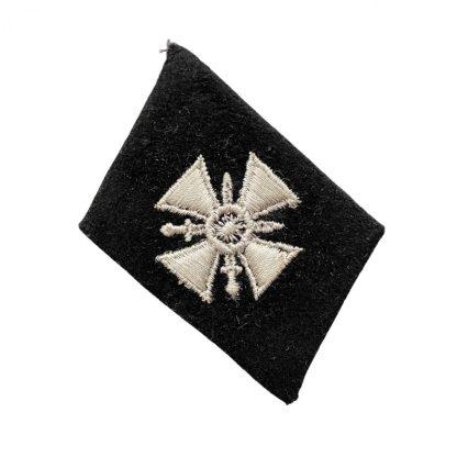 Original WWII German Waffen-SS 29. Waffen-Grenadier-Division der SS (Russische Nr 1) collar tab