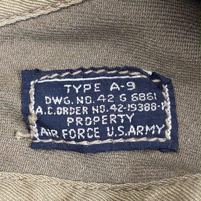 Original WWII USAAF Type A9 flight cap