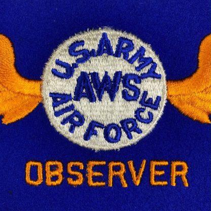 Original WWII USAAF observer armband