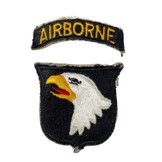 Original WWII US 101st Airborne division patch