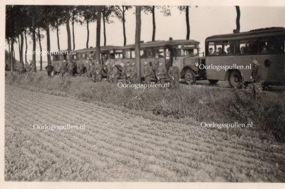 Original WWII German photo 22.Luftlande division Rotterdam May 1940