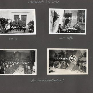 Original WWII German Wehrmacht photos Eitelsbach (Trier)