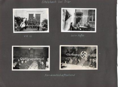 Original WWII German Wehrmacht photos Eitelsbach (Trier)
