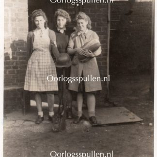 Original WWII French resistance women photo Maubeuge