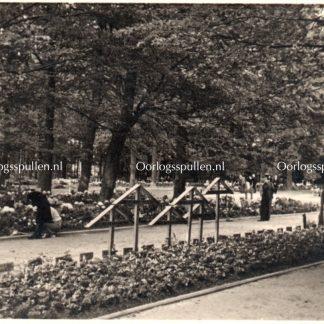 Original WWII German photo cemetery Grebbeberg Netherlands